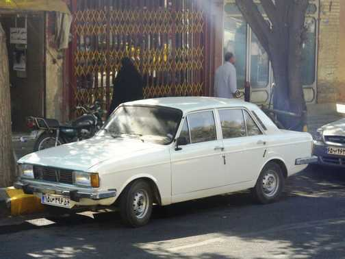 No one expected a Hillman Hunter . . . Na'in.