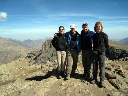Summit of Ras Dashen 4533m