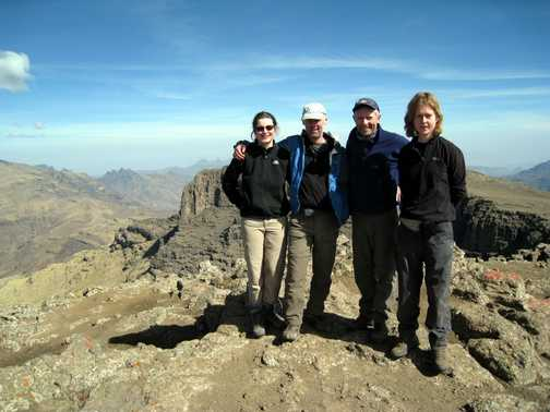 Summit of Ras Dashen 4533m
