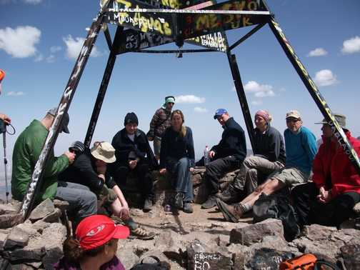 Mt Toubkal