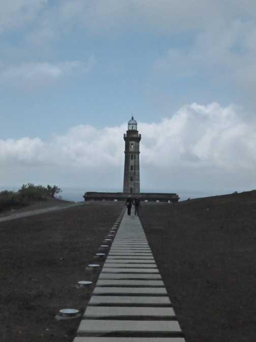 Me at Capelinhos volcano