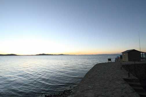 Amantani Island Sunset