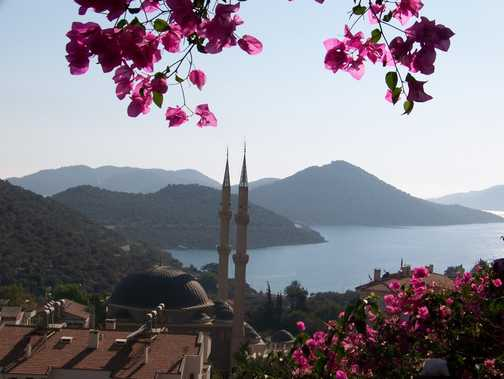 View from the Oreo Hotel, Kas