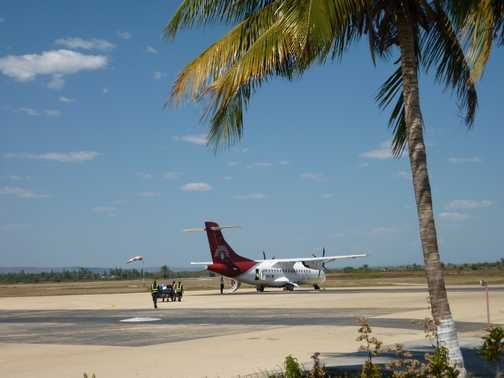 Air Madagascar flight from Tulear