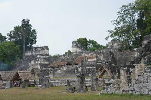 central plaza, Tikal