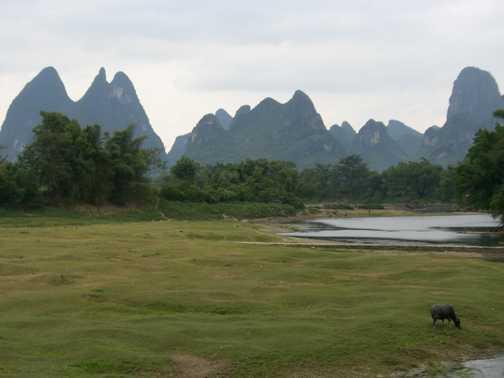 Outside Yangshuo