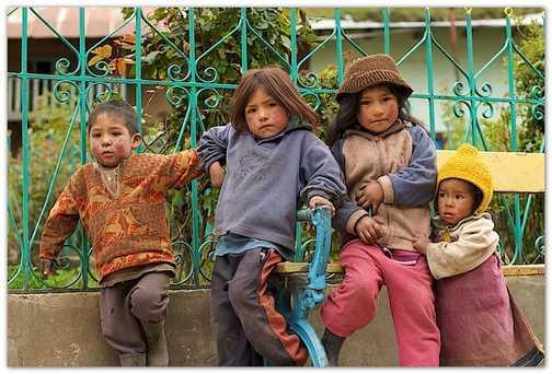 Huayllapa kids