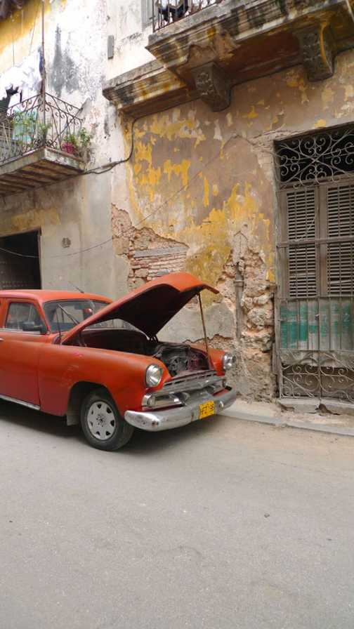 An old car in Havana