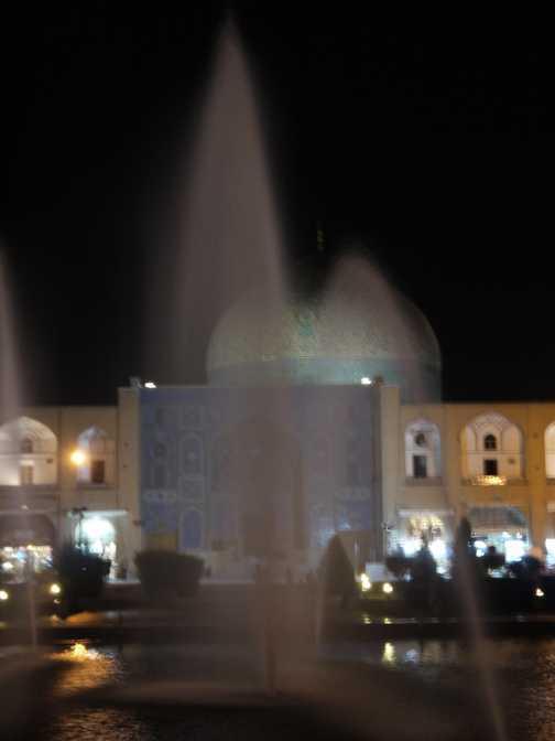 Watering the Mosque . . . Esfahan.
