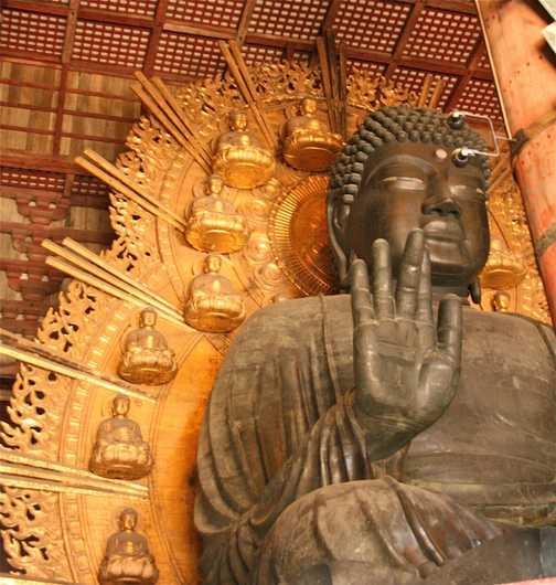 Giant Buddha statue, Nara