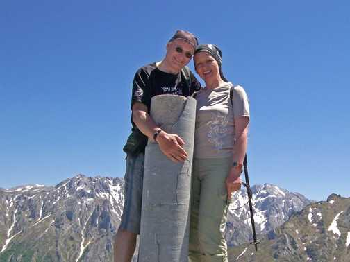 Alan & Michele - Us!  Taken by Pilar