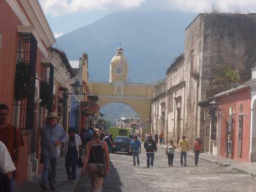 Downtown Antigua