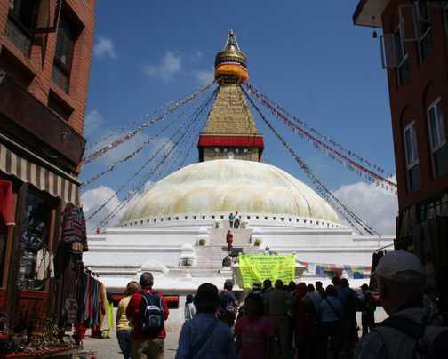 Bodnath Temple Kathmandu