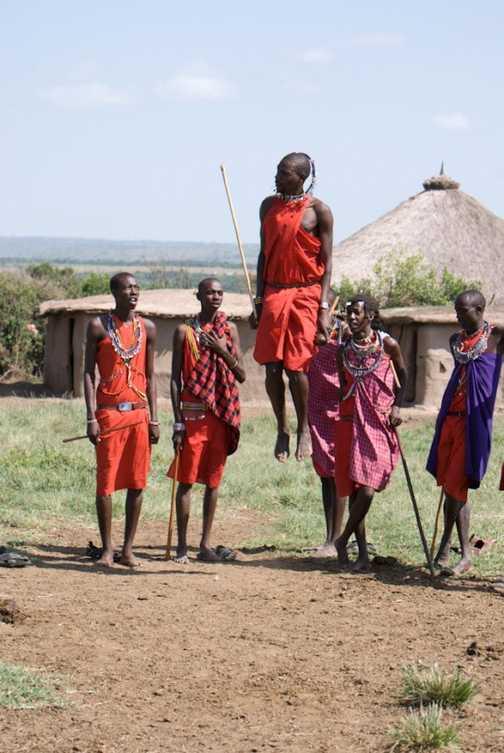 Adumu dance