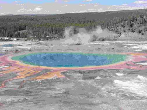 Grand Prismatic (Yellowstone NP)