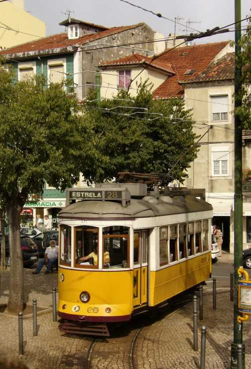 Lisbon Tram route 28