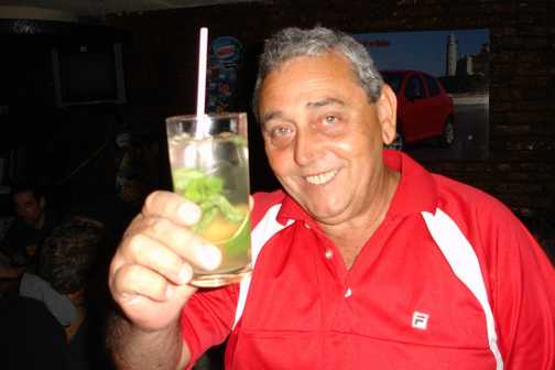 Lazaro 'Legs' Rojas Garcia, coach driver and salsa dancer extraordinaire.