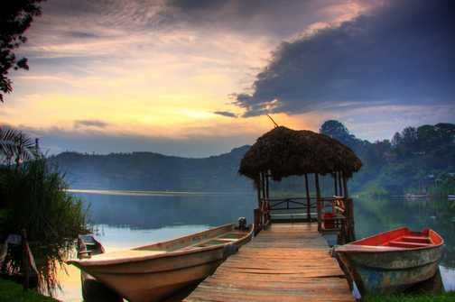 Lake Bunyonyi Sunset