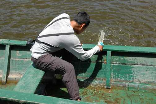 Boat trip looks in doubt!