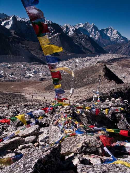 Himalayan dawn at Tengboche