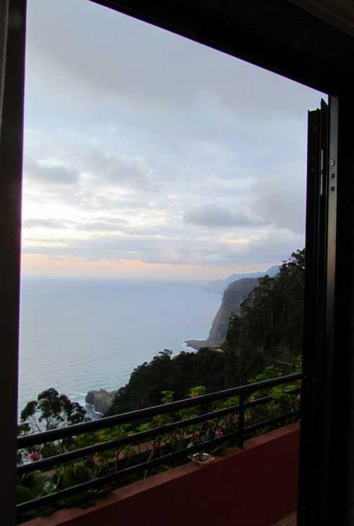 View from hotel room Santana