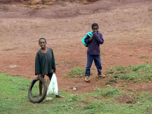 boys in great rift valley
