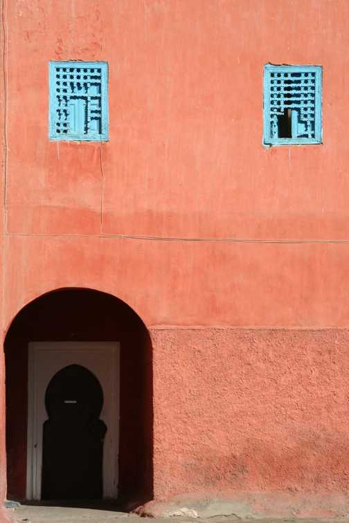 Doorway in El Badi Palace, Marrakech