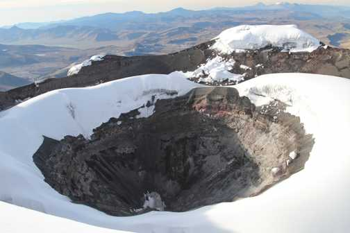 Cotopaxi Summit Crater