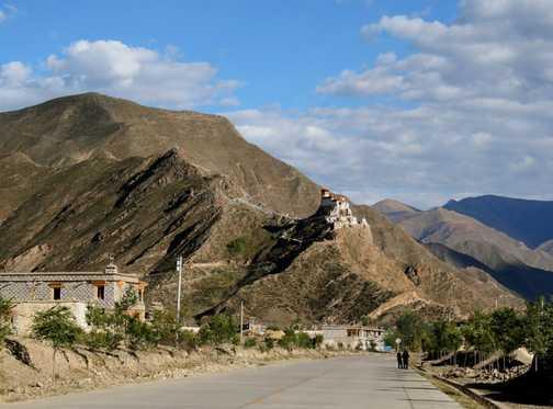 Yumbu Lakhang Monastery Tibet