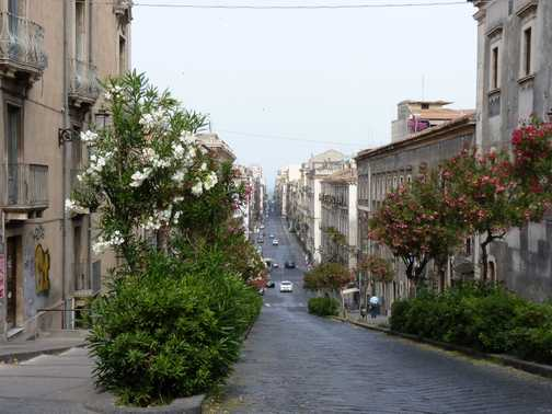 Catania - Via Antonino Di Sangiuliano