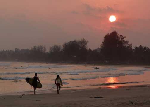 Weligama Bay Sunset