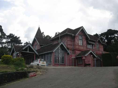 "Post office at ""Little England"" Nuwara Eliya"