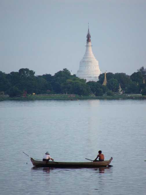 At Shin Pannya, Sagaing Hill