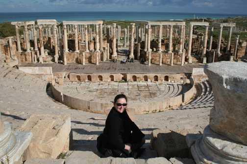 Leptis Magna Theatre