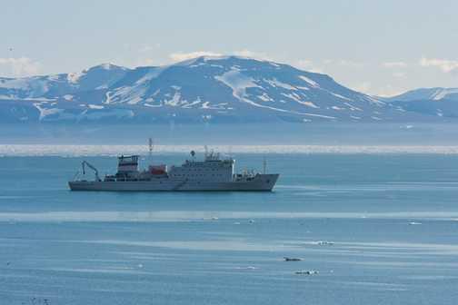 Our Ship - the Vavilov