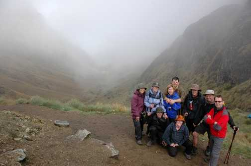 Group at Dead Woman Pass