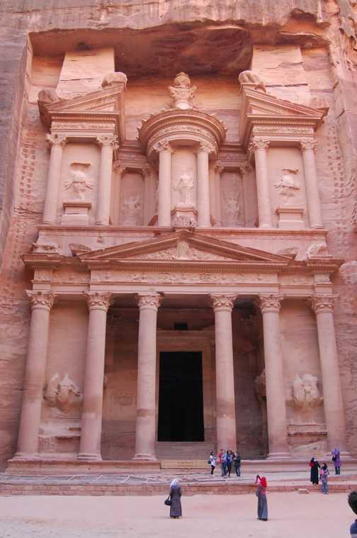The famous Treasury