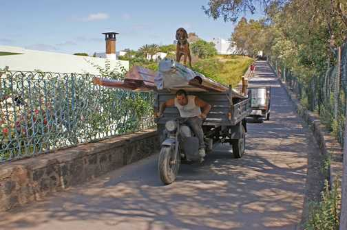 Transportation Stromboli style