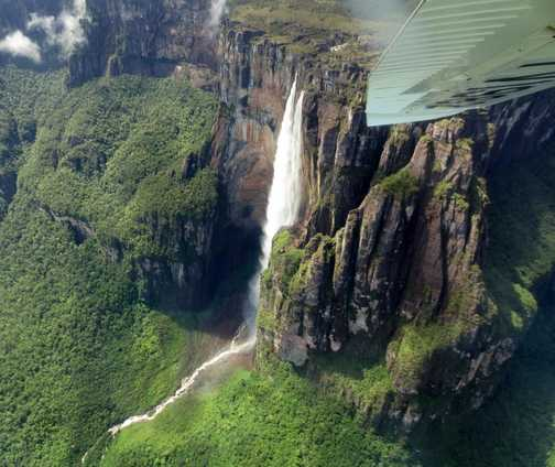 another Highlight, Angel Falls from the air
