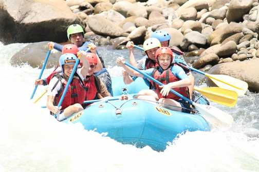 White water fun