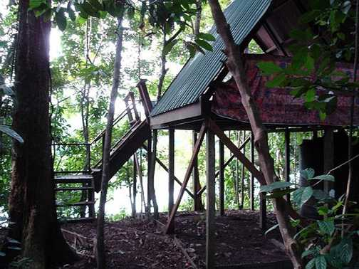Accommodation at eco camp
