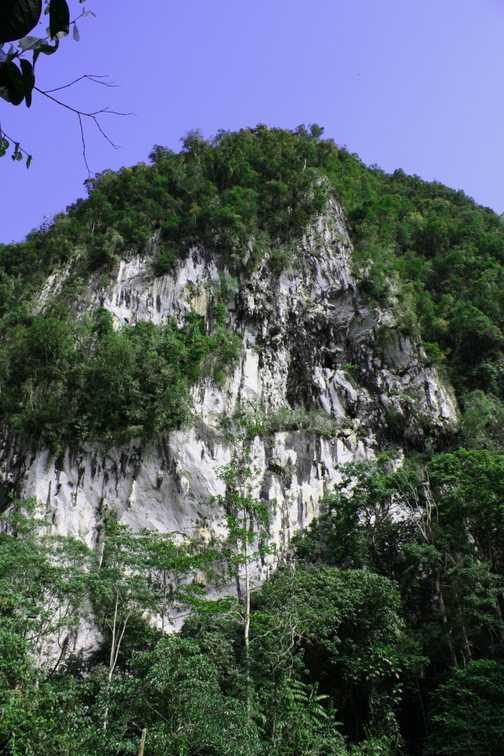 Mulu cliffs