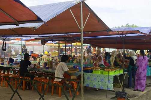 kota kinabalu market