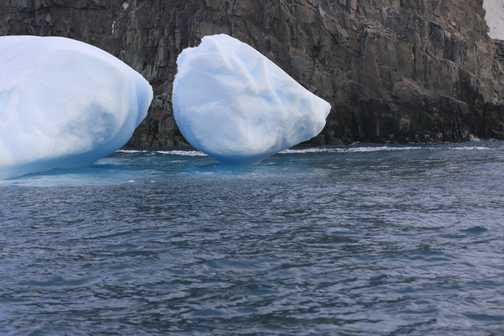 balancing ice - spert island