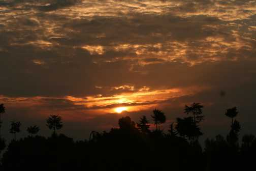 Sunrise in Rwanda