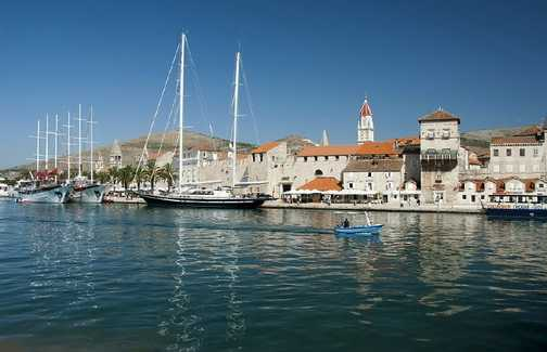 The waterfront at Trogir