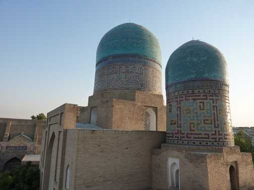Samarkand domes