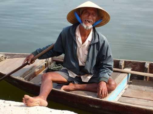 Hoi An Boatman