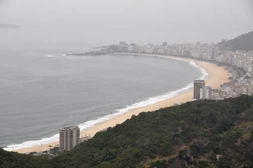 Copacabana from Sugar Loaf Mountain