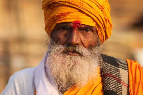 Sadhu at Varanasi